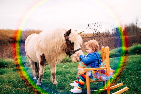 Rainbow Baby D - 1 year