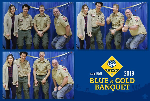 Blue and Gold 2019 Photobooth
