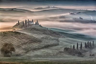 Vicki Moritz - Belvedere morning fog