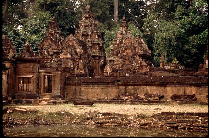 Banteay Srei in northern Kampuchea