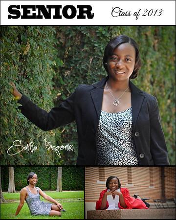 Sania Brooms Senior Photos