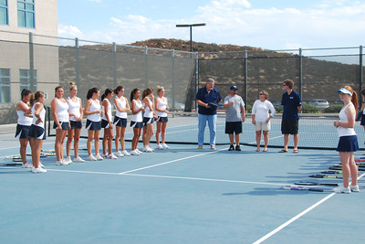 Girls Varsity Tennis vs. Linfield