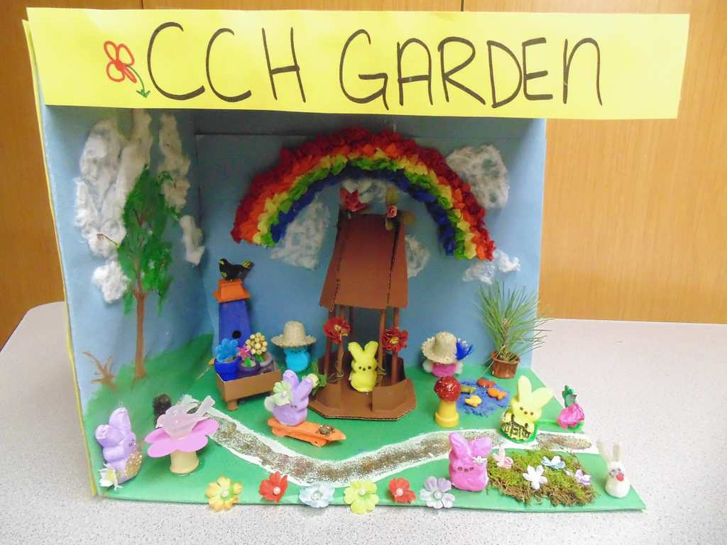 """. \""""CCH Gardens,\"""" by residents of Christian Community Homes in Hudson, Wis., who ranged in age from 85 to 91"""