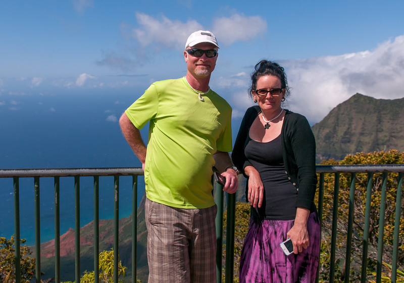 Steve and Deneen at the Na Pali Coast.jpg