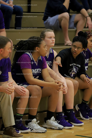 West Bladen vs Kinston girls basketball 2020 playoffs