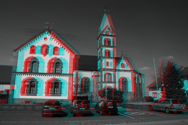 Martinshoe, Germany, in Analygph Stereo for book and ebook