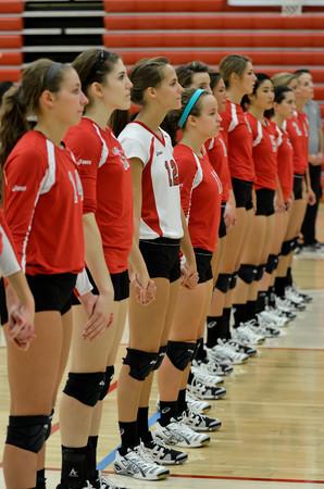 9/19/12 Volleyball vs. Spring Arbor