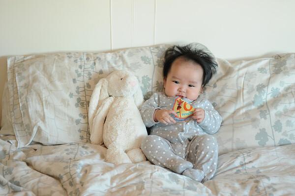 Olivia Violet Month 6