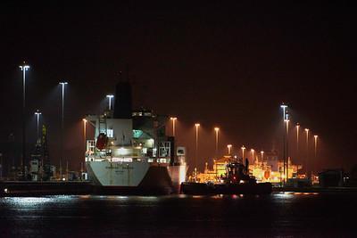 Panama Canal - Nighttime