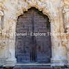 Wood Carved Mission Door