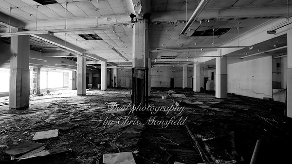 March 17th 2010 . INSIDE the old CO OP BUILDING
