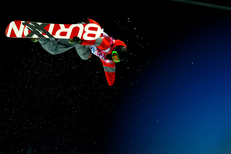 . China\'s Shi Wancheng rides during the men\'s snowboard halfpipe final. Sochi 2014 Winter Olympics on Tuesday, February 11, 2014. (Photo by AAron Ontiveroz/The Denver Post)