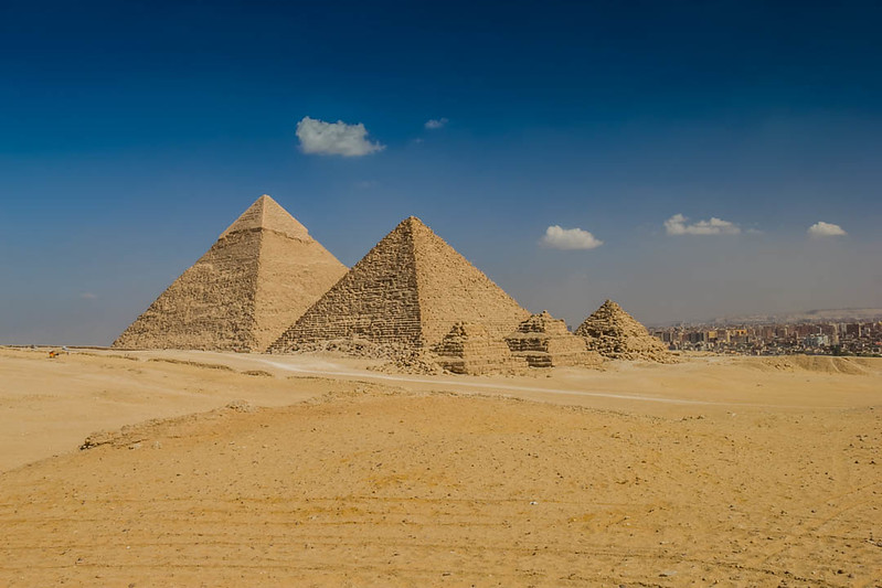 Places to Visit in Egypt - Pyramids of Giza - Lina Stock