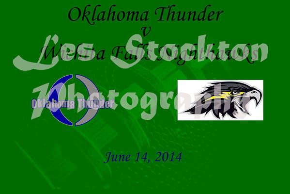 2014.06.14 - Oklahoma Thunder v Wichita Falls Nighthawks