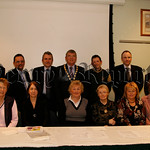 The Committee members of Newry & District Branch of the Alzheimers Society with Local Councillors and Dr Mark Mc Cauley (guest speaker) after their AGM in Ballybot House, 07W13N53