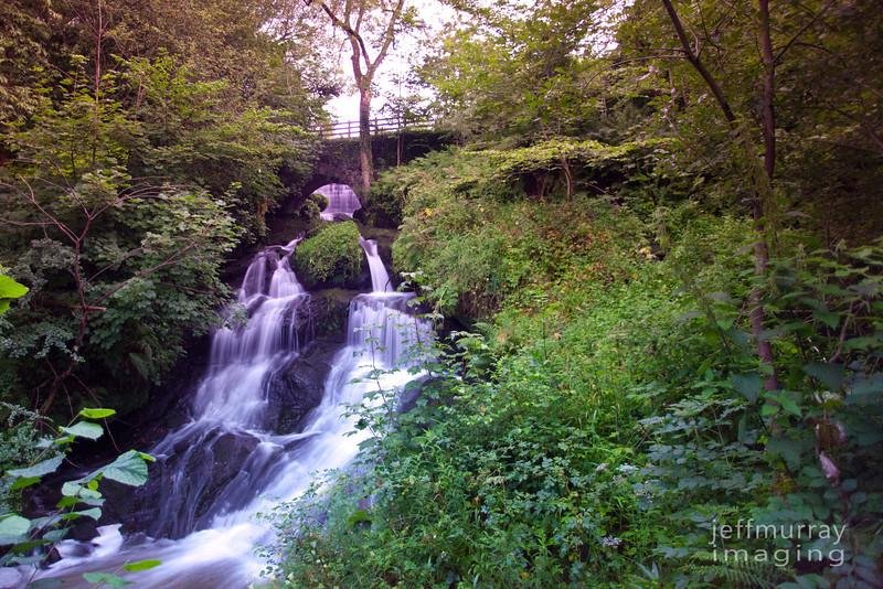 Rouken falls late summer,