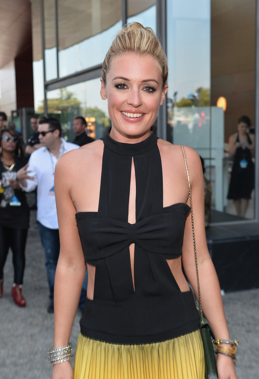 . TV host Cat Deeley attends CW Network\'s 2013 Young Hollywood Awards presented by Crest 3D White and SodaStream held at The Broad Stage on August 1, 2013 in Santa Monica, California.  (Photo by Alberto E. Rodriguez/Getty Images for PMC)