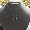 1.80ctw Antique Diamond and Sapphire Negligee Pendant 15