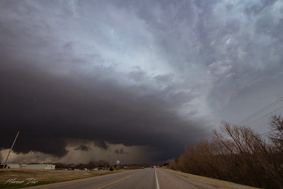 March 23 Luther, OK Supercell