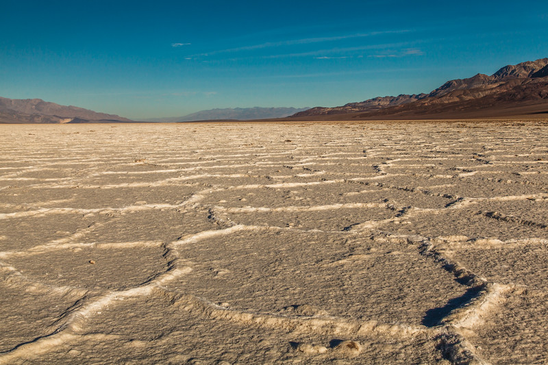 Salt Flats in Badwater Basin