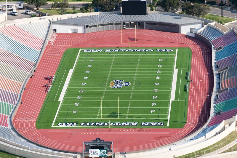 09/23/2014 092621 -- San Antonio, TX -- © Copyright 2014 Mark C. Greenberg  Alamo Stadium