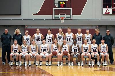 2017 UWL Women's Basketball Team