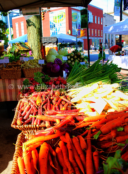 Easton Farmers Market, Easton, PA 7/27/2013