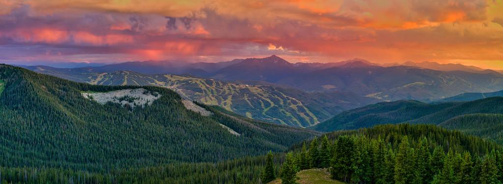 Vail Colorado Sunset