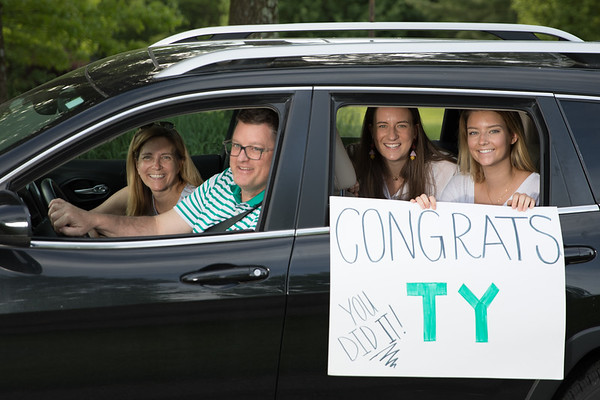 Ty Jenkins Graduation