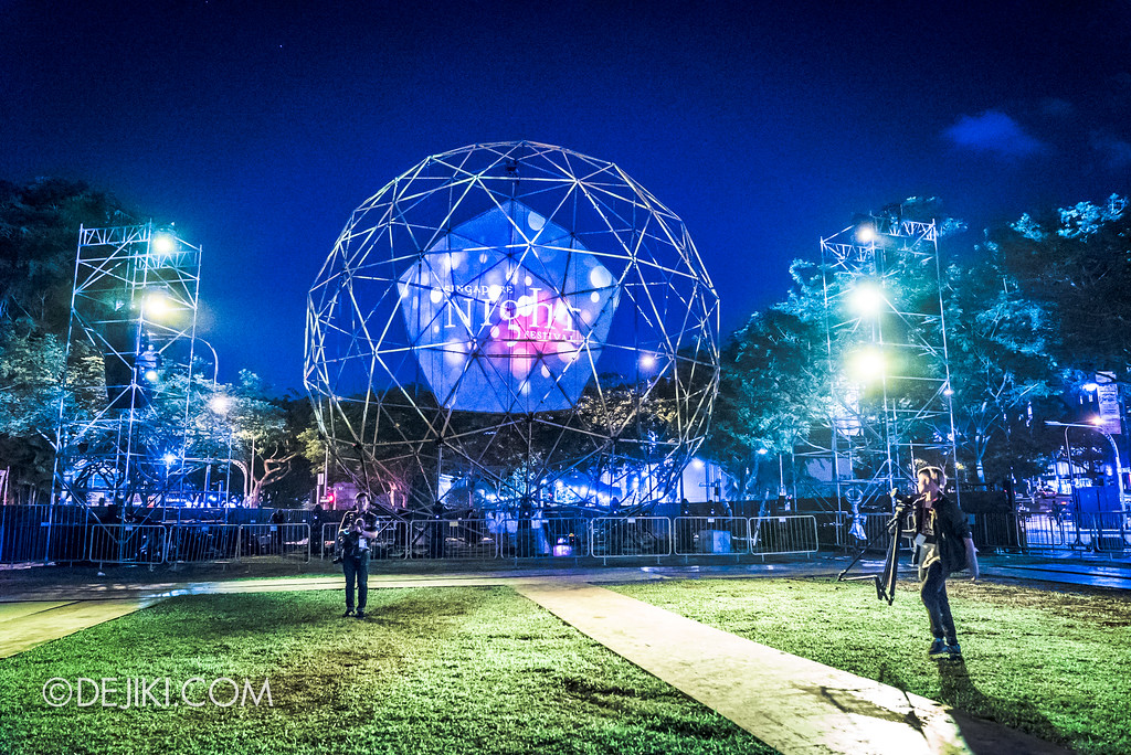 Singapore Night Festival 2017 / GLOBE by Close-Act Theatre (NL) - Empty Cathay Green