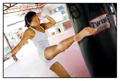Jen Thai boxing Feb 11