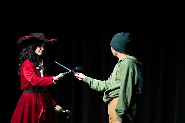 Shining Stars in Peter Pan Jr Saturday Show