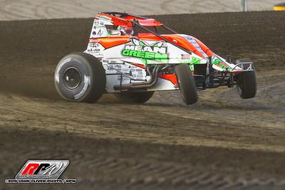 Bridgeport Speedway - USAC - 6/12/19 - John Cliver