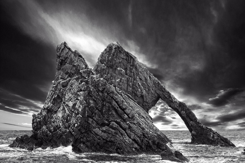 Bow Fiddle Rock, Portknockie, Moray, Scotland