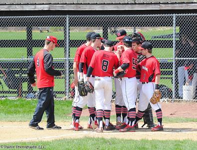 Varsity Baseball Action