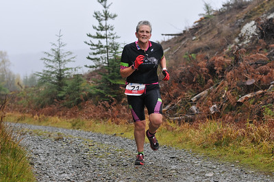 Coed y Brenin Trail Duathlon - Sprint Run at 2.5kM