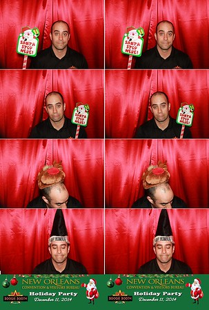 CVB Holiday Party Photobooth 12.11.14 @ Convention Center