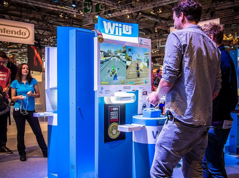 Wii U at Gamescom 2013