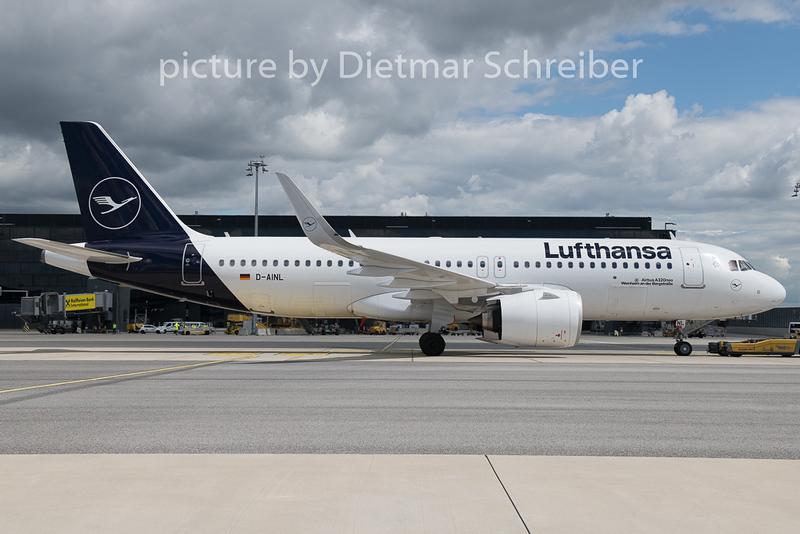 2019-05-10 D-AINL Airbus A320neo Lufthansa