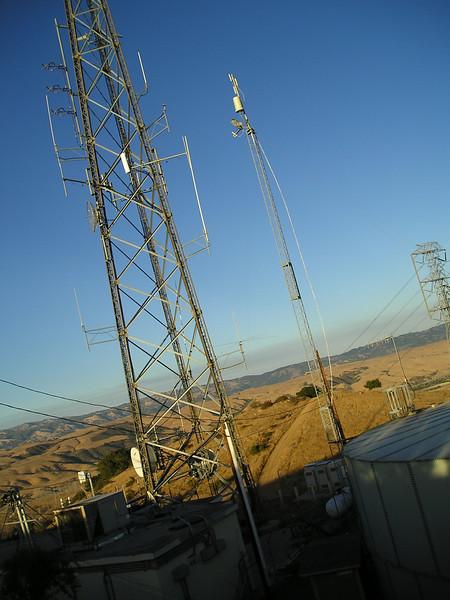 Radio tower part 2, with San Jose behind it.