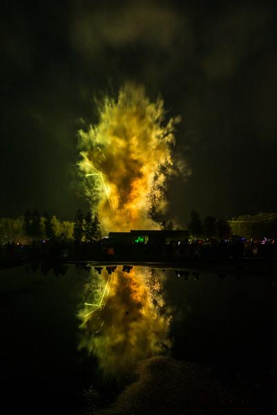 Milton Fireworks 2015