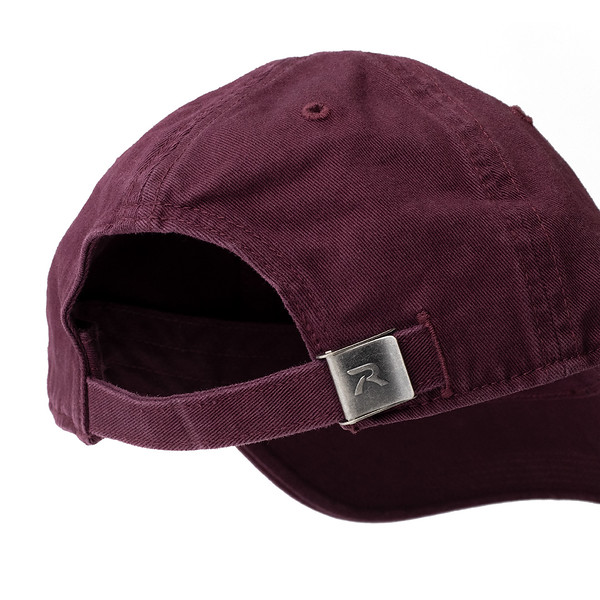 Outdoor Apparel - Organ Mountain Outfitters - Hat - Las Cruces Script Dad Cap Maroon Back.jpg