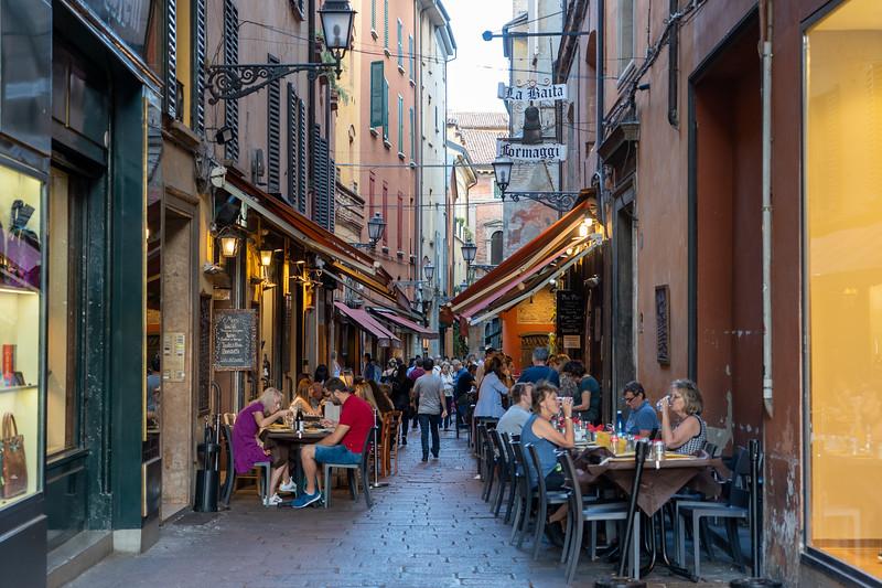 Quadrilatero in Bologna