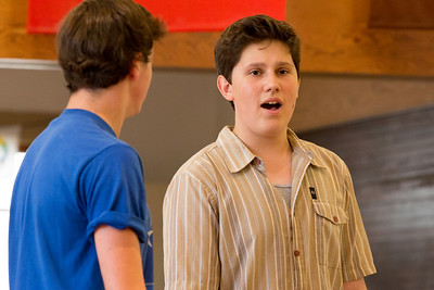 West Side Story Rehearsal July 4th,2012