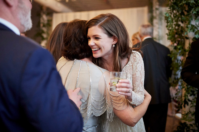 Emily and Ben reception at The Space, HTX | Daria Ratliff Wedding Photography of Katy, TX