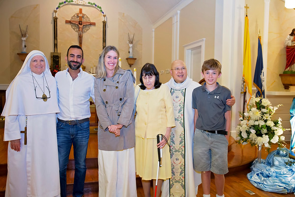 Sacrament Recipient at Fr. Manny 5-28-18