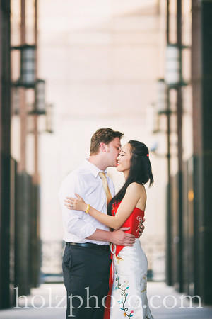 Jiangyu & Sammie Creative Engagement Photos