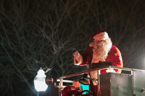 Christiansburg Christmas Parade 2015