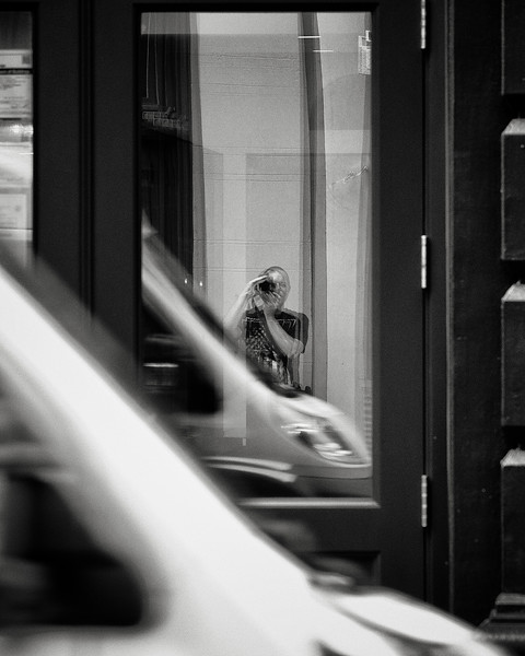 self-portrait, Spring Street