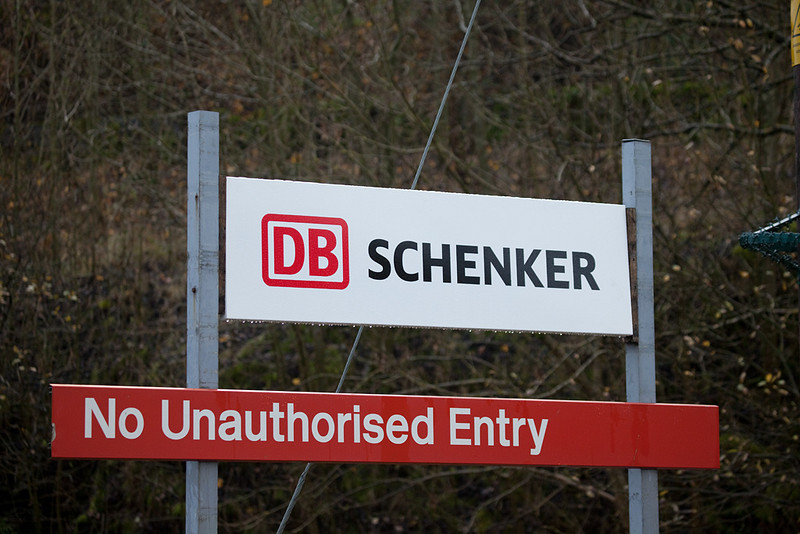 So who authorized DBS' entry then...? Sign at the entrance to the Peak Dale facility.